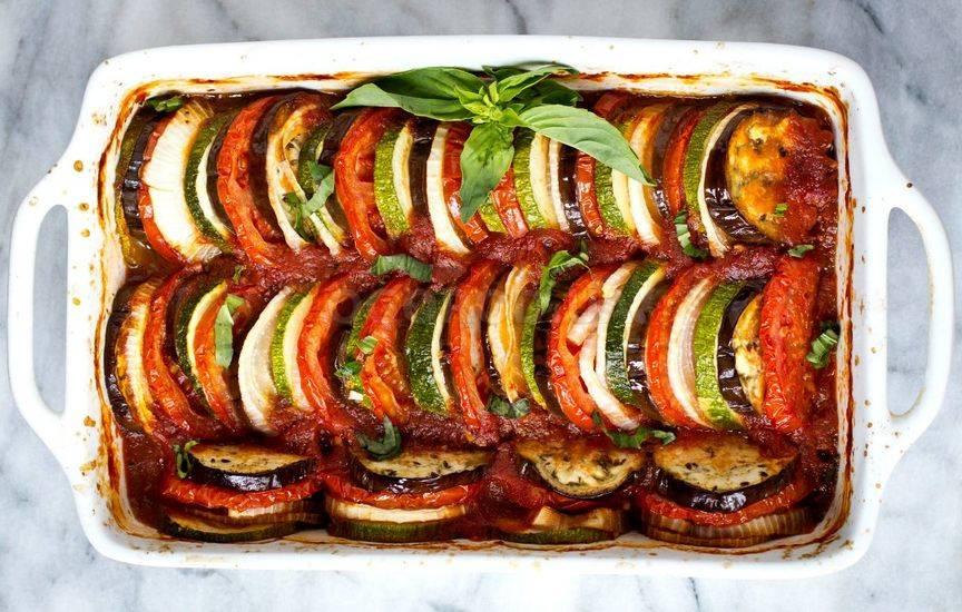 Овощной рататуй рецепт с фото