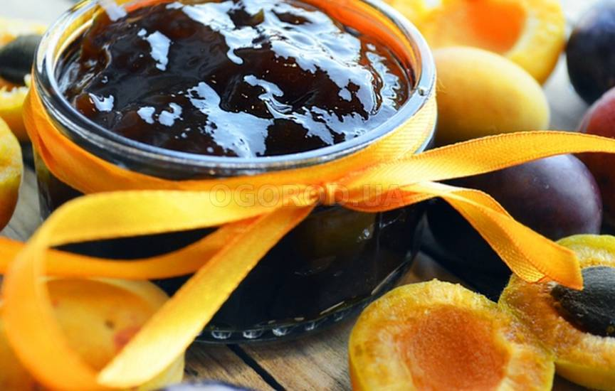 Варенье из слив и абрикосов