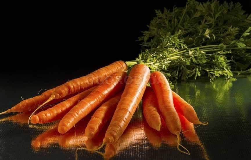 Как харнить морковь