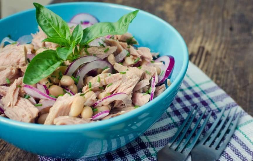 Вкусные салаты с фото из фасоли
