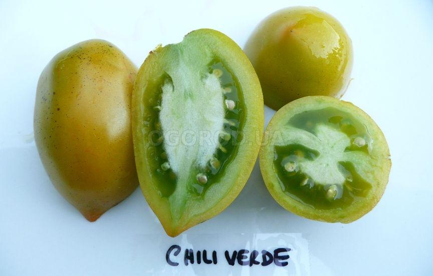 Томат «Chile Verde» (Зелёный Чили)