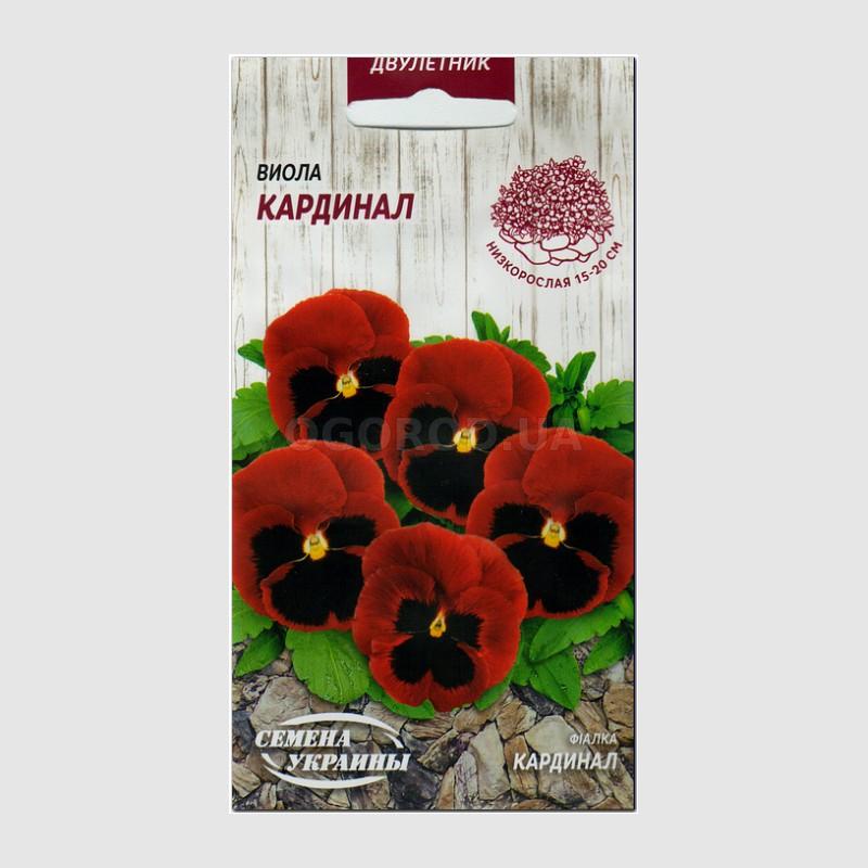 646d46b9ce65 Семена виолы крупноцветковой «Кардинал», ТМ «СЕМЕНА УКРАИНЫ» - 0,1 грамма купить  недорого в интернет-магазине семян OGOROD.ua